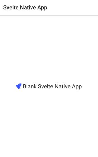 Learn Svelte Native